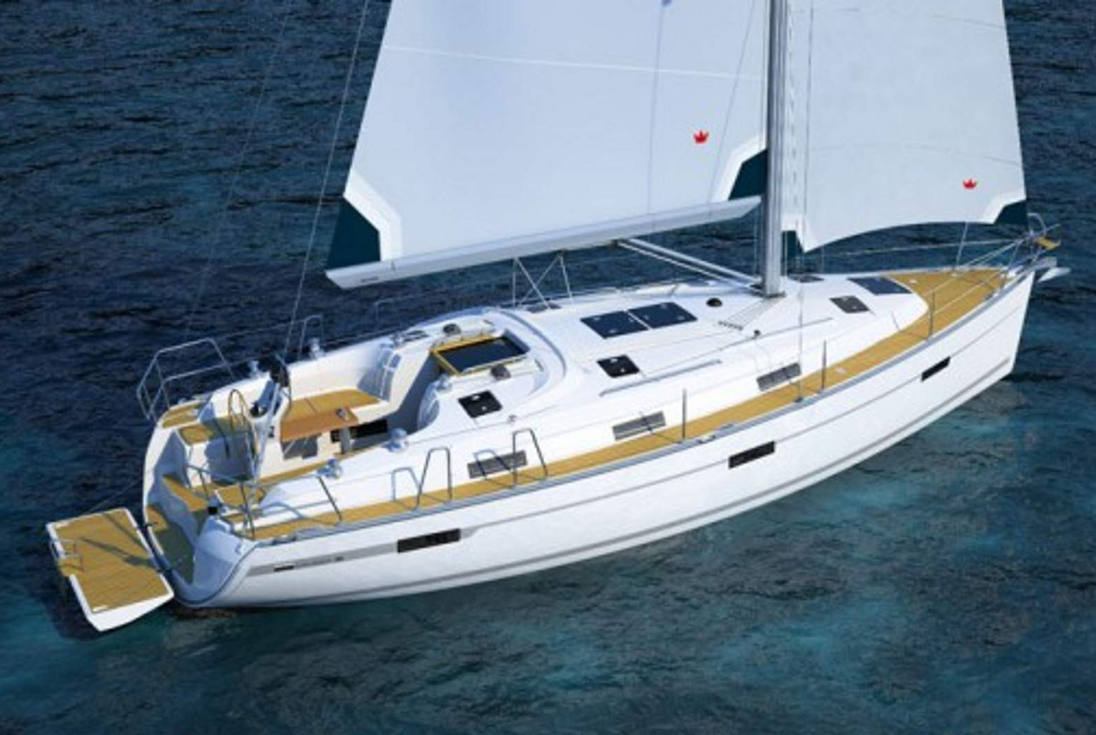 Full Team Bavaria Charter Boat 36 Cruiser