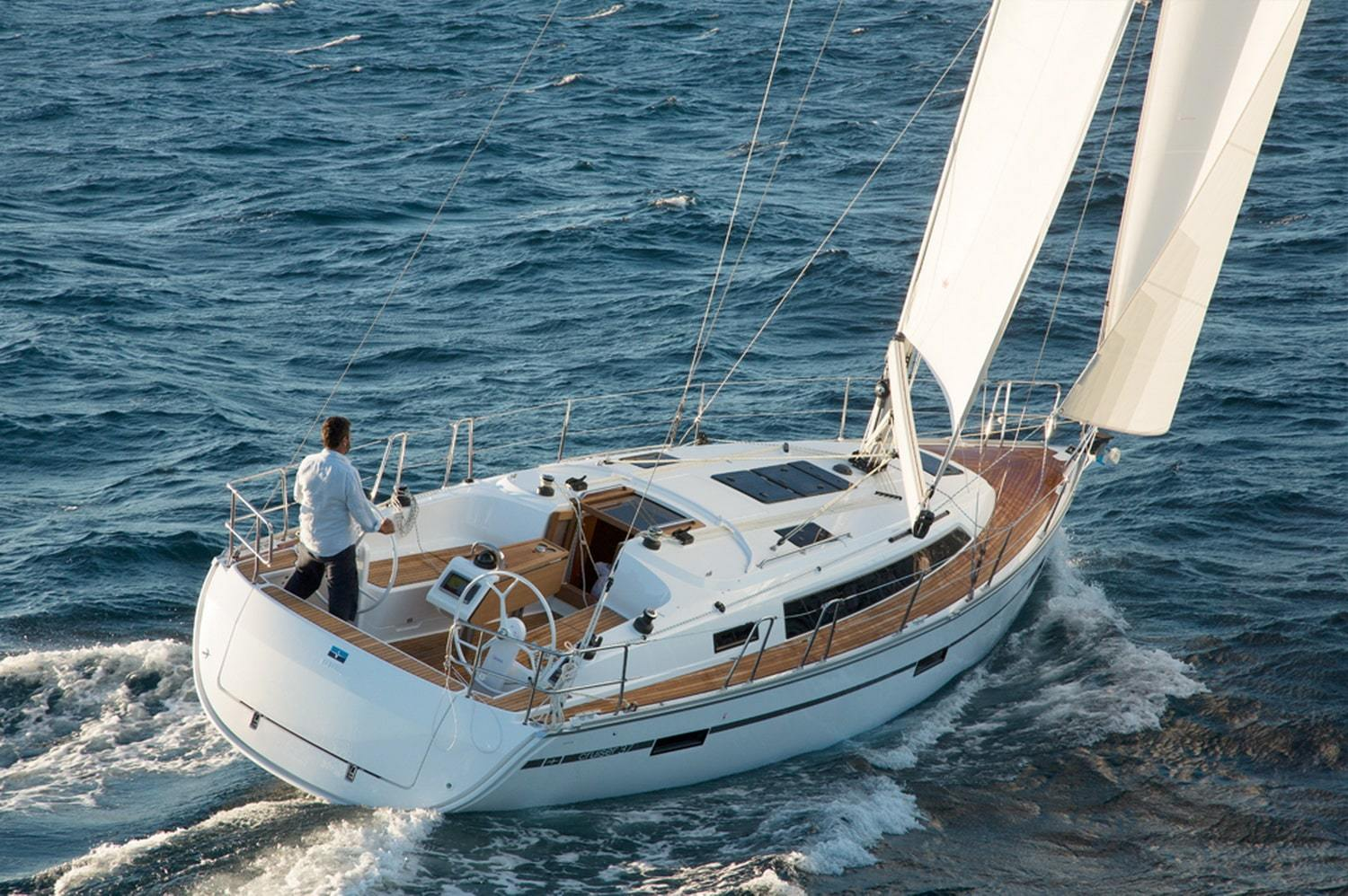 Full Team Bavaria Charter Boat 37 Cruiser