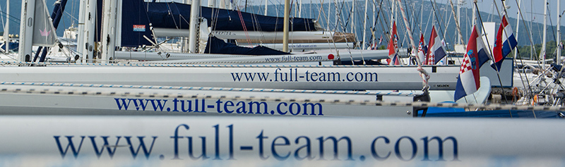 Full Team Yacht Charter